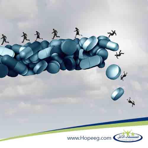 الأدوية المستخدمة في علاج الادمان