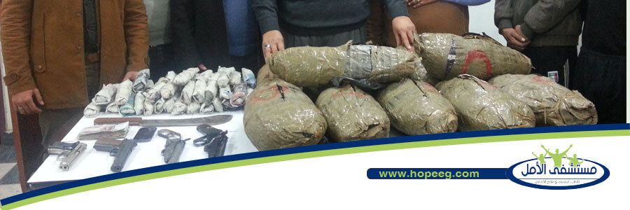 مديريات الأمن تكثف حملاتها ضد مروجى المخدرات بالمحافظات